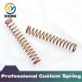 Primavera de compresión de cobre personalizado de alta calidad
