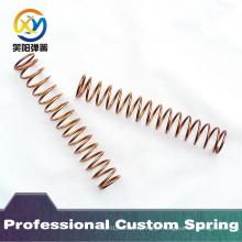Primavera de compressão de cobre de alta qualidade personalizada