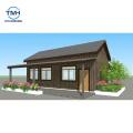 Casa de acero ligero de hormigón prefabricado Marco espacial Villa de acero ligero Foshan