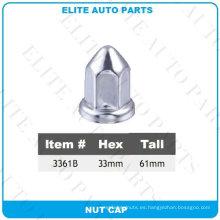 Cubierta de tuerca de acero para automóvil (3361B)