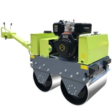Construction machinery honda road roller steel drums
