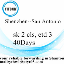 Shenzhen Sea International Freight Penghantaran ke San Antonio
