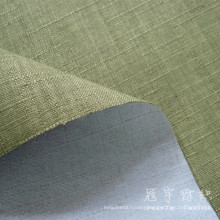 Fr Imitation Linen 100% Polyester Fabric for Sofa
