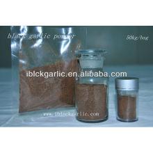 Poudre d'ail noir - 100% naturel produit de soins de santé nourriture biologique