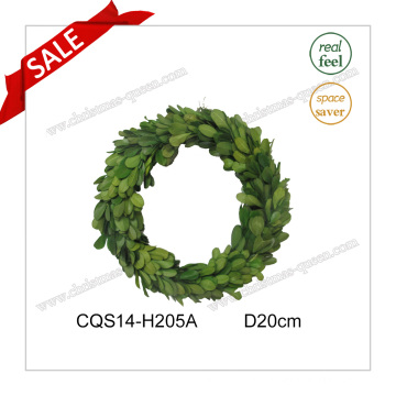 D20cm Big Preserved Boxwood Wreath Home Decoration Gift