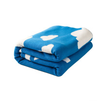 Poids léger réversible coton tricot Baby Blanket CB-K16011