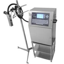 Impressora a jato de tinta industrial contínua de papelão