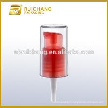 Pompe à lotion plastique avec surcharge AS