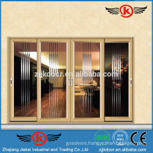 JK-AW9121 utility aluminum frame door glass sliding door