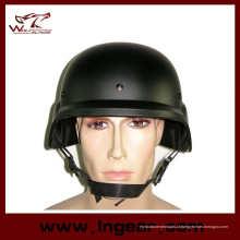Capacete tático com viseira clara de combate militar M88 Pasgt réplica
