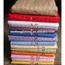 100 rayures en coton pour les ensembles de literie d'hôtel