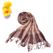 2015 Fashion Jacquard Striped Girl Scarves