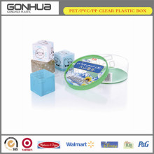 2014 high quality promotional custom design pp clear plastic package box