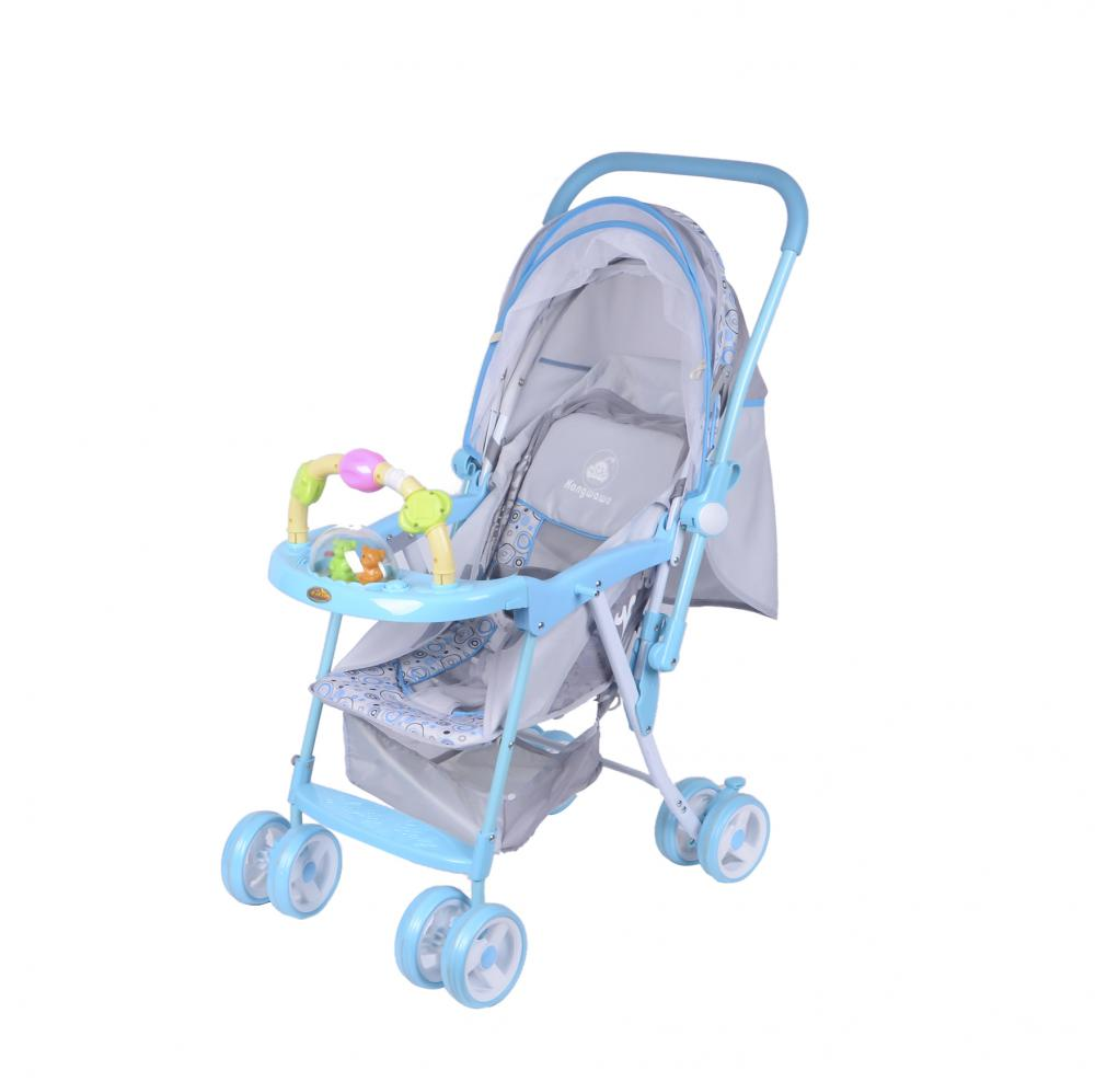Stroller with Various Colors and Patterns