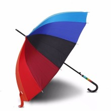 Top Quality for Double Layers Golf Umbrella Promotional with rainbow Advertising Umbrella supply to Bahrain Suppliers