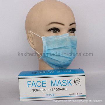 Earlop descartable ou Tie-on Nonwoven Face Mask