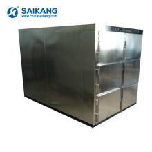 Armazenamento de cadáveres SKB-7A005 Seis corpos mortuário geladeira