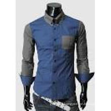 2016 New Fashion Fancy Design 100%Cotton Mens Shirts