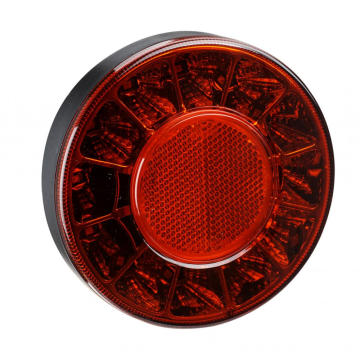10-30V Round Bus Truck Rear Lamps