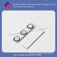 Badge Badge / porte-badge magnétique