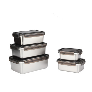 3er Set stapelbare Bento Box