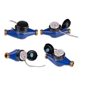 Multi Jet Dry Dail Digital Wasserzähler mit Impulsausgang