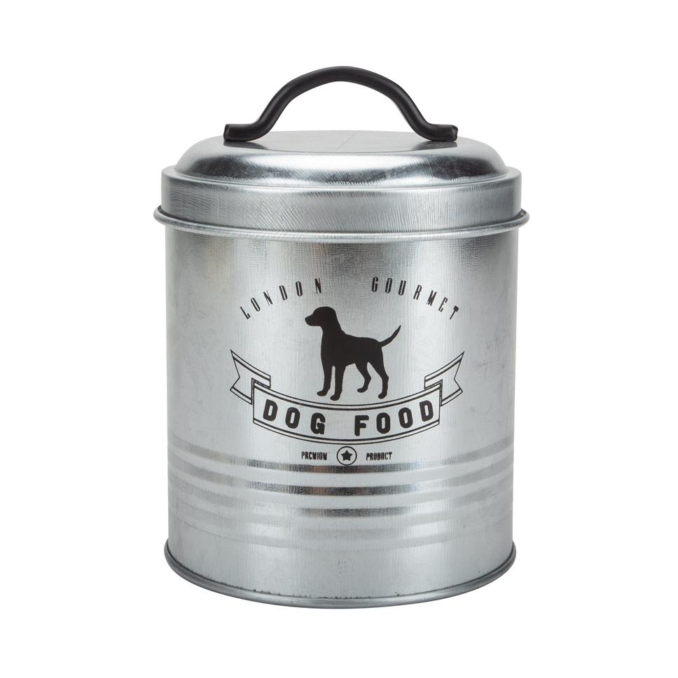 Dog Food Storage And Feeder Station