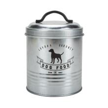 Hundefutter Lagerung Zinn und Feeder Station