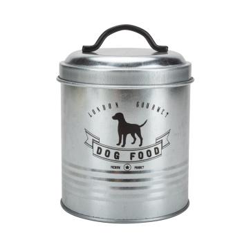 Boîte de rangement pour aliments pour chiens et station d'alimentation