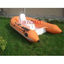 fiberglass rib boat
