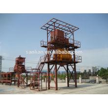 HZS60 Electric Бетоносмесительный завод Siemens