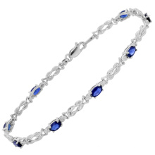 925 Silver Gemstone Bracelets Jewelry Wholesales