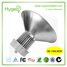Best quality 80W 3 years warranty high bay led warehouse light fixtures