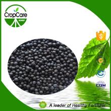 Fertilizante NPK 15-5-25 Orgânico Granulado Preto Concentrado