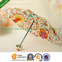 Qualité couleur modèle automatique pliant parapluie pour les cadeaux (FU-3821BFD)