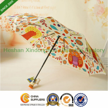 Quality Full Colour Pattern Automatic Folding Umbrella for Gifts (FU-3821BFD)