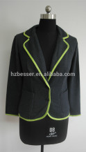 Fashion school girl and women wear chaqueta jean jacket