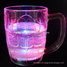 LED iluminado vasos de cerveza de activo líquido
