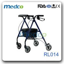 Rouleau léger pliable avec siège de repos RL014