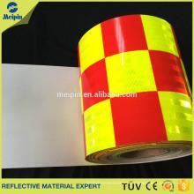 Comprobado etiqueta vinyle cinta cinta casco de la motocicleta bicicleta carenado pegatina tanque