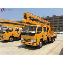 Camión de plataforma de trabajo aéreo garantizado 100% DFAC 14m