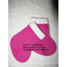 Puro calcetines de cachemira