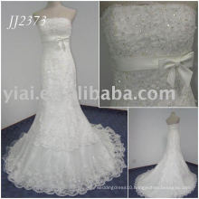 JJ2373 Real Sample Beaded Lace Mermaid Wedding Anniversary Dresses