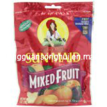 Plastic Dried Fruit Bag/ Mixed Fruit Bag/ Food Bag with Hang Hole