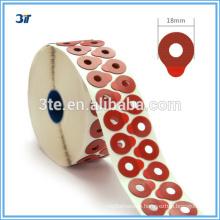 Standard optical lens edging blocking pads