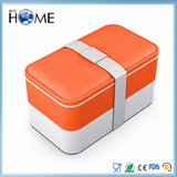 Customized PP Bento Lunch Box with leakproof cup, Food Grade BPA Free with Microwaveable from China