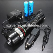 LED-Taschenlampe, LED-Taschenlampe, wiederaufladbare LED-Taschenlampe