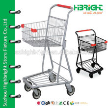 single basket convenience shopping cart