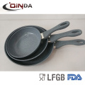living stone marble cookware pan set