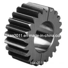 Flat Carbon Steel Differential Tractor Transmission Driving Spur Gear